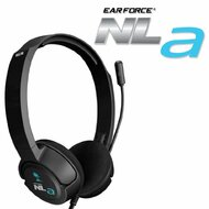 Turtle Beach Ear Force Nla Gaming Headset Black For Wii U Microphone - EE734732