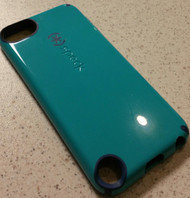 CandyShell For iPod Touch 5th Gen: Caribbean Blue/deep Sea Blue Fitted - EE555519