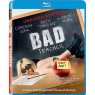 Bad Teacher Unrated Edition Blu-Ray On Blu-Ray With Cameron Diaz - EE734961