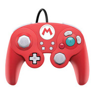 Super Mario Bros Mario GameCube Style Wired Fight Pad Pro Controller - EE734990
