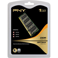 PNY Optima 1GB DDR 333 MHz PC2700 Notebook/laptop SODIMM Memory Module - EE735099