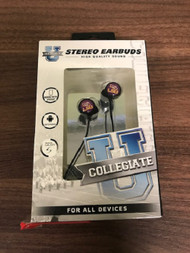 LSU Tigers Wired Stereo Earbuds Works With iPhone Android Samsung - EE735179