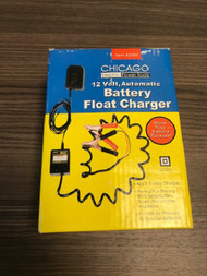 12 Volt Automatic Battery Float Charger Item 42292 Double Insulated - EE735187