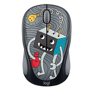 Logitech Doodle Collection M317 M325 Mouse Optical Wireless 3 Buttons - EE735291
