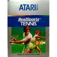 5200 Real Sports Tennis For Atari  Vintage - EE735328