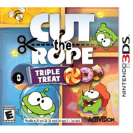 Cut The Rope: Triple Treat Nintendo For 3DS Puzzle - EE735346