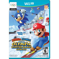 Mario And Sonic At The Sochi 2014 Olympic Winter Games For Wii U - EE735690