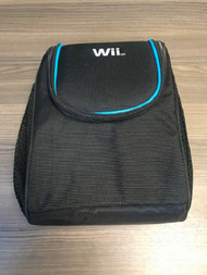 Black Travel Bag Holds Console Components And Accessories For Wii TDT2 - EE735693