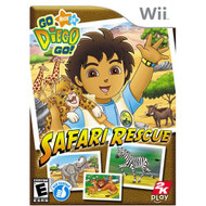 Go Diego Go Safari Rescue For Wii - EE735726