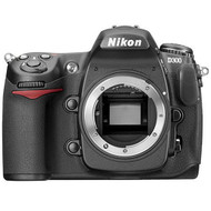 Nikon D300 DX 12.3MP Digital SLR Camera Body Only Black - EE735811