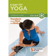 5 Day Fit Yoga On DVD With Suzanne Deason Exercise - EE735895