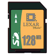 Lexar Media 128 MB Secure Digital Card - EE736188