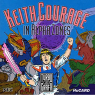 Keith Courage In Alpha Zones For Turbo Grafx 16 Vintage - EE736429