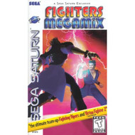 Fighters Megamix For Sega Saturn Vintage Fighting - EE736624