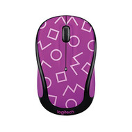 Logitech Play Collection M325C Wireless Mouse Geo Purple With Receiver - ZZ736878