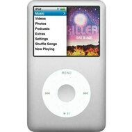 Music Player iPod Classic 6th Generation 80GB Silver Media A1238 - EE736885