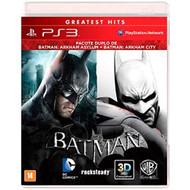 Batman: Arkham Asylum Batman: Arkham City Dual Pack For PlayStation 3 - EE737203