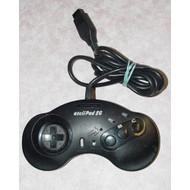 Asciipad Sg Controller For Sega #5710 For Sega Genesis Vintage Black - EE585819