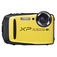 FujiFilm FinePix XP90 Yellow Waterproof Digital Camera - EE568673