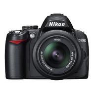 Nikon D3000 10.2MP Digital SLR Camera With 18-55MM F/3.5-5.6G Af-S DX - EE737776