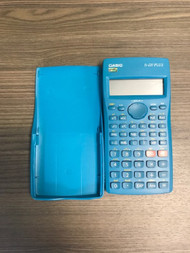 Casio Aqua Blue FX-220 Plus Scientific Calculator With Dust Cover - EE737958