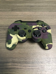 At Play Wireless Camo Controller For PlayStation 3 PS3 Green Gamepad - EE738182