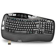 Logitech K350 Wireless USB Multimedia Wave Keyboard French Layout - ZZ738210