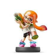 Nintendo Amiibo Inkling Girl Super Smash Bros Series Figure Character - EE737492