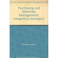 Purchasing And Materials Management: Integrative Strategies By Joseph - EE738706