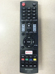 Sharp GJ221-C TV Remote Control Black - EE540906