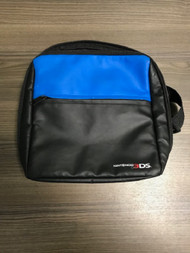 Nintendo Blue And Black Multi Colored Nylon Soft Travel Case Holds 10 - EE738729