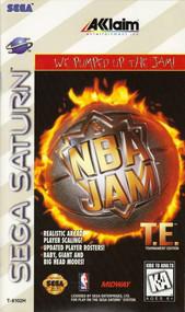 NBA Jam Tournament Edition For Sega Saturn Vintage Basketball - EE588378