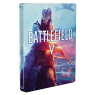 Battlefield V Steelbook No Game Included For Xbox One 5 Blue WFU519 - EE738898