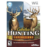 Cabela's Hunting Expeditions For Wii Shooter - EE738941