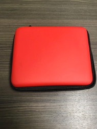 Nintendo 2DS Red Rubberized Carrying Case Holds 8 Game Cartridges - EE738967