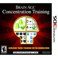Brain Age: Concentration Training Nintendo For 3DS Puzzle - EE739094