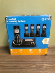 AT&T 5 Handset Answering System Model CL83519 - EE739132