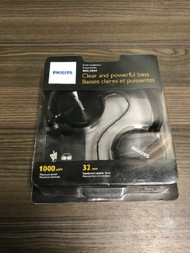 Philips SHL3060 DJ Style Headphones Black Earphones Ear-Pad On - EE739135