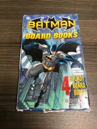 Batman Board Books 4-pack By DC Comics Illustrator Book - EE739439