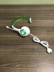 Rock Candy Green Wired Headset Microphone Mic For Xbox 360 Ear-Pad On - EE739510