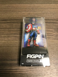 Figpin Captain America 491 Marvel Contest Of Champions Toy Figurine - EE739513
