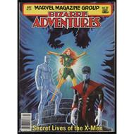 Bizarre Adventures #27 July 1981 Marvel Magazine Group X-Men Magazine - EE739650