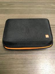 Nintendo XL Black And Orange Hard Shell Nylon Travel Case Holds 8 Game - EE740028