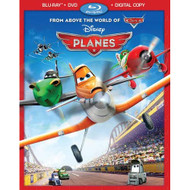 Planes Blu-Ray DVD On Blu-Ray With Carlos Alazraqui Disney Anime - EE740176
