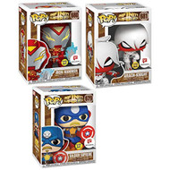 Warped Heroes Exclusive Pop! Figures Infinity Warps Bundled With - EE740179
