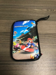 Rds Industries Nintends Mario Kart Theme Travel Case With Mario Stylus - EE740319