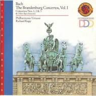 Bach: Brandenburg Concerti NOS.1-3 By Bach Composer And Richard Kapp - EE740512