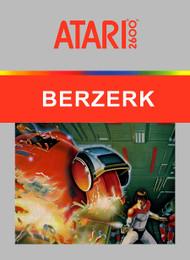 Berzerk 2600 For Atari Vintage - EE740563