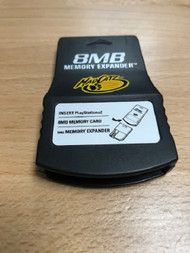 Madcatz 8MB Memory Expander For PlayStation 2 Memory Cards PS2 Card - EE740641