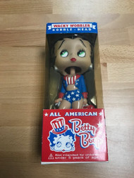 Funko All American Betty Boop Wacky Wobbler Bobble Head Toy - EE740653